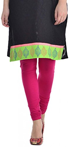 Sohniye Women's Cotton Leggings [Magenta]