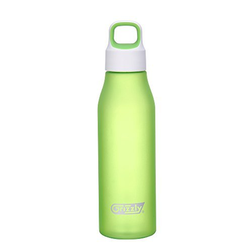 Grizzly Fashion series - Aurora Bottle Round Cup Frosted, Apple Green