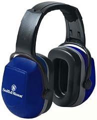 [Smith & Wesson ] S&W スミス&ウェッソン サプレッサー イヤーマフ 防音 消音 ヘッドホン ノイズ・リダクション・レート(NRR) 29デジベル