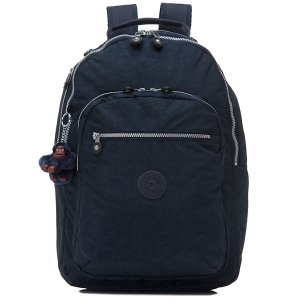 Kipling Seoul Backpack with Laptop Protection (True Blue)