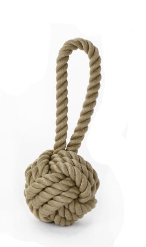 Multipet Nuts for Knots Heavy Duty Medium Rope Dog Toy with Tug
