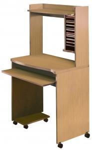 Buy Low Price Comfortable Nexera Natural Maple Mobile Computer Cart (B003YK5VJ8)