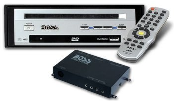 Boss Audio DVD2800T Mobile DVD Player with TV Tuner