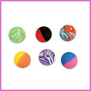 Assorted Hi Bounce Balls (1 dz) [Toy]