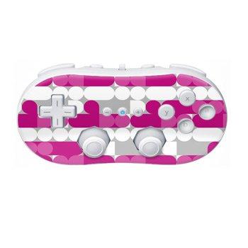Nintendo Wii Controller Skin- Neo Pink