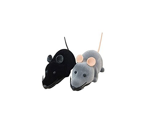 Be Oneself Mini Electronic Remote Control Mice Remote-Controlled Mouse Toy Simulation Mouse For Trick/ Playing With Cat/ Dog Great Funny 3 Years Old front-205824