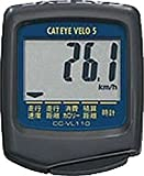 キャットアイ(CAT EYE) サイクルコンピュータ ベロ5 ブラック CC-VL110