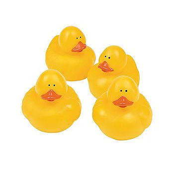Yellow Rubber Ducks - 12 ct