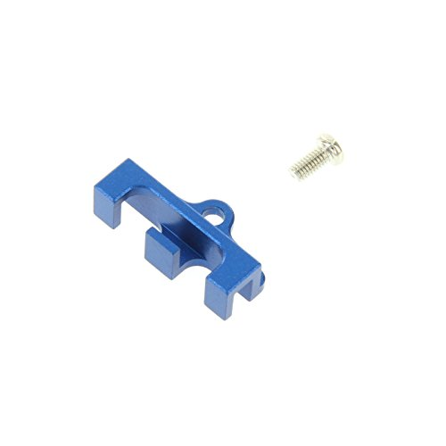 GPM Racing Front Servo Wire Bunch for 1:10 Traxxas Revo, Blue