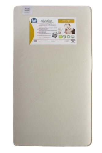 Simmons Kids Beautyrest Beginnings Naturally Healthy Nights Infant And Toddler Mattress