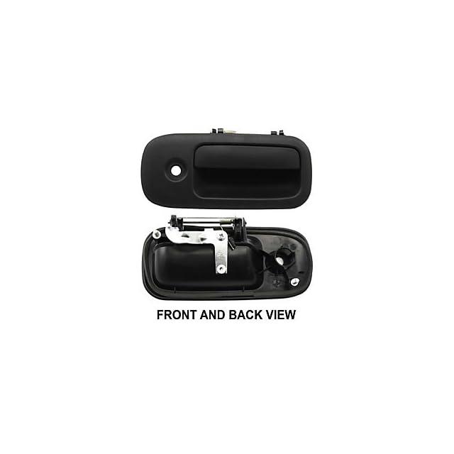 Chevy Express Gmc Savana 1500 2500 3500 96   02 Front Outer Black Door Handle Rh