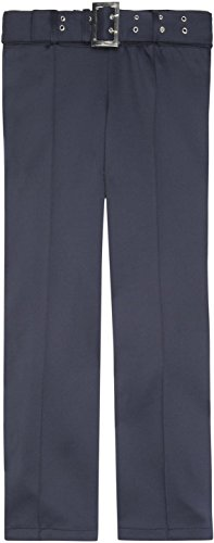 French Toast School Uniforms Pull On Self Belt Pant Girls navy 12
