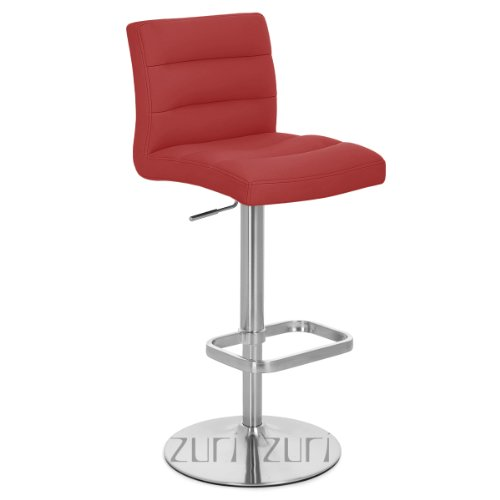 Lush Red Bar Stool