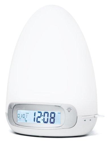Muse ML-30CF Radio con orologio (doppia sveglia, ingresso Aux), colore: Bianco