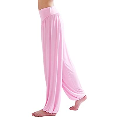 ThumbLike Super Soft Modal Spandex Harem Yoga/ Pilates Pants