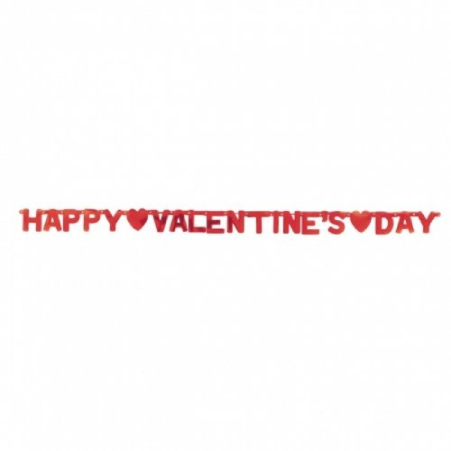 Happy Valentine's Day Letter Banner 6 1/2ft - 1