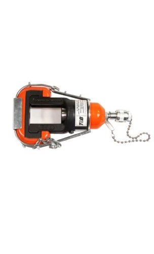 Thomas & Betts 13642M 12-Ton Hydraulic Crimping Head with Steel Case