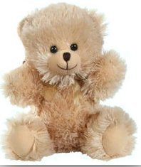 "Fuzzy Friends Teddy Bear 8"" Sitting Bears"