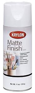 Krylon 1311 Aerosol Matte Satin Finish Spray Enamel 11 Ounce