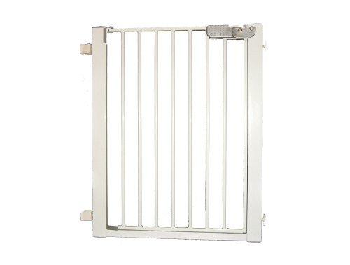 Cardinal Gates Lock-N-Block Sliding Door Gate, White