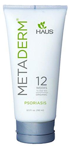 Metaderm Organic Psoriasis Moisturizing Cream (6.5 Oz.)