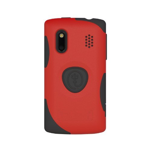 Trident Case Ag-Hero-Rd Aegis Case For Htc Evo Design 4G/ Hero 4G - 1 Pack - Retail Packaging - Red