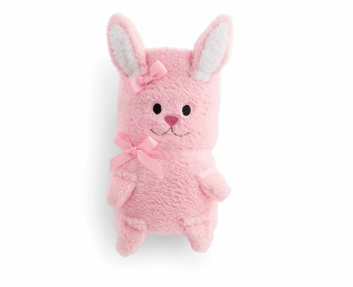 Mud Pie Blanket, Pink Bunny