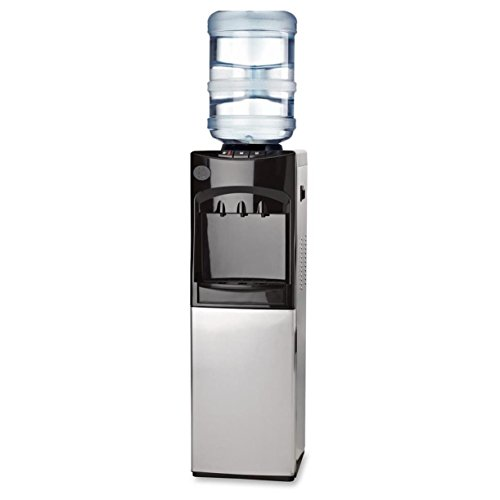 Buy Discount Genuine Joe GJO22552 Cabinet Freestanding Water Cooler, Stainless Steel, 185 degrees F ...