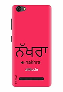 Noise Designer Printed Case / Cover for LYF WIND 6 / Quotes/Messages / Nakhra Design