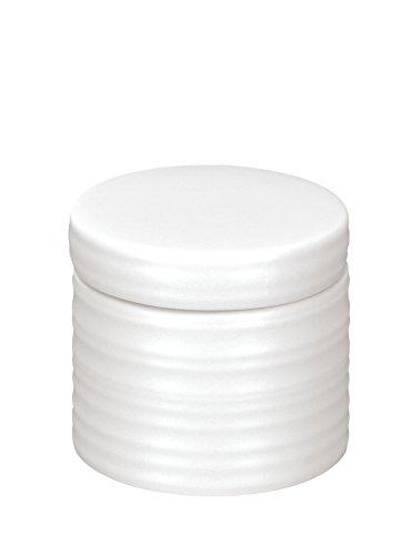 Kleine Wolke 5046100873 Sahara Boîte à Coton Céramique Blanc