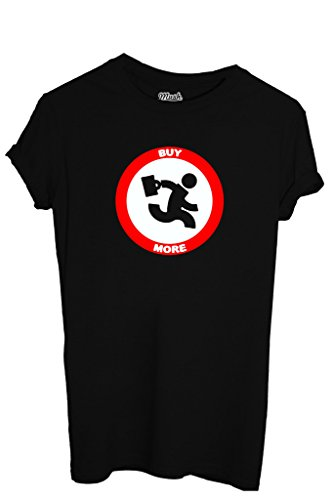 t-shirt-buy-more-chuck-film-by-mush-dress-your-style-hombre-xl-negro
