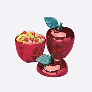Red Apple Containers (1-Dozen) for Holding Miscellaneous Objects - Housewares and Desk Accessories