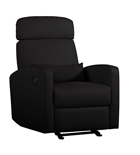 Shermag Electric Full Power Motion Recliner, Black - 1
