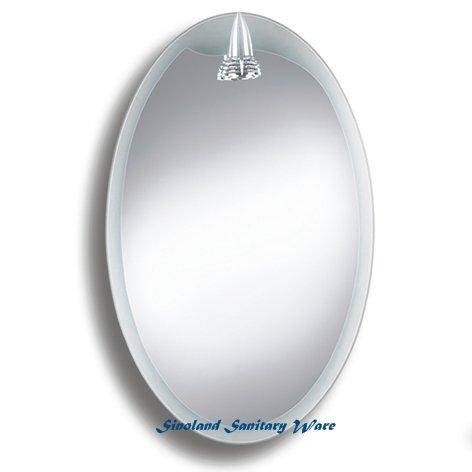 Badspiegel BELEUCHTET Wandspiegel BELEUCHTUNG Spiegel LICHT Badwandspiegel aus Kristall YJ-308D45