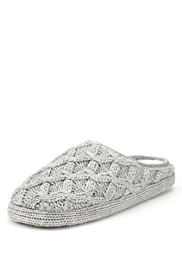 Per Una Cable Knit Mule Slippers