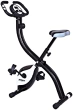 Striale SV-312 Vélo d'appartement pliant magnétique Noir/Blanc