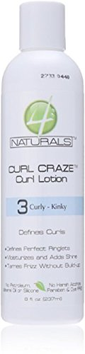 4 Naturals Curl Craze Lotion, 8 Ounce (4 Naturals compare prices)