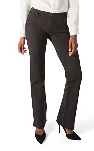 Betabrand Women's Dress Pant Yoga Pants (Straight-Leg)