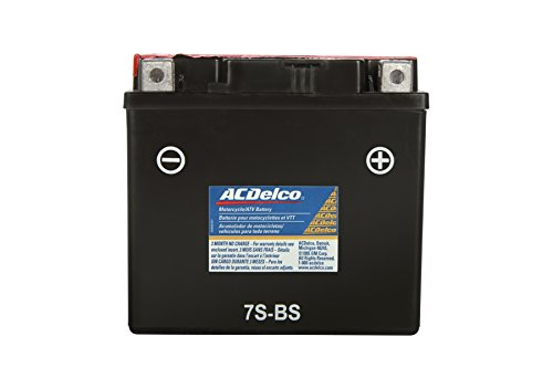 Acdelco Atz7Sbs Specialty Powersports Agm Jis 7S-Bs Battery