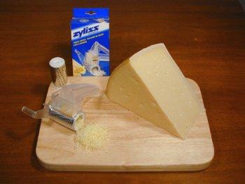 Parmigiano-Reggiano/Cheese Grater Combo - 4 LB Wedge