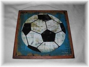 Soccer Ball Sports Wall Art Sign Boys Bedroom Decor by The Little Store Of Home Decor