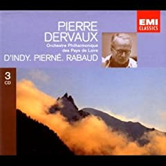 Dervaux plays D'Indy, Pierne, and Rabaud