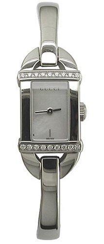 Gucci YA068507 - Reloj para mujeres color plateado