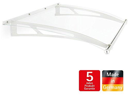 schulte vordach haust r acrylglas stahl wei pultvordach acrylglas klar 150x 95cm. Black Bedroom Furniture Sets. Home Design Ideas