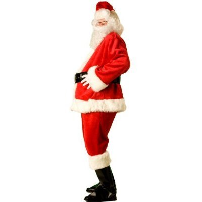 Ultimate Santa Claus Suit Adult Xl with Belly