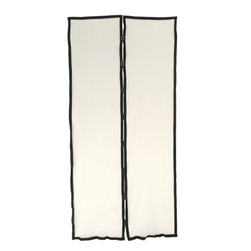 Best Review Of Hands-free Magic Mesh Magnetic Screen Door Curtain Anti-Mosquito/Bug Beige