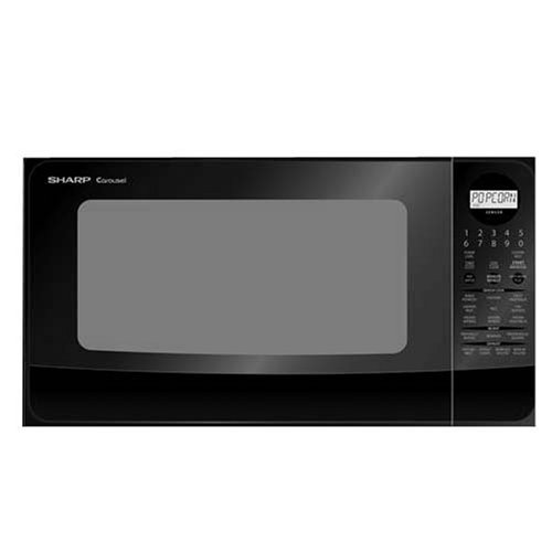 Average Countertop Microwave Dimensions : ... 420LK Family-Size 1-2/5-Cubic-Foot Countertop Microwave Oven, Black