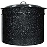 Granite Ware 3-Piece 33-Quart Crab and Crawfish Cooker with Steamer and Drainer Insert