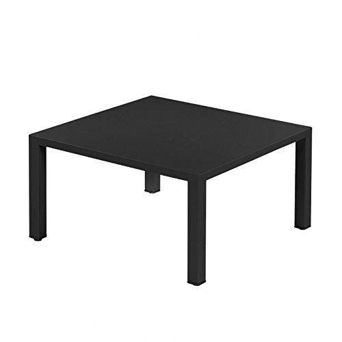 EMU Tisch Esstisch Gartentisch Round 80x80x42 (schwarz)