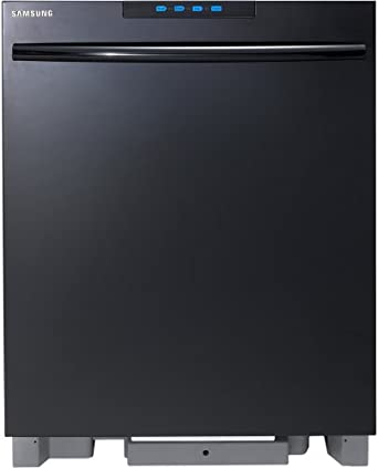 """Samsung DMT800RH Energy Star 24"""" Dishwasher with 6 Wash Cycles and Touch Screen Control Panel, Black"""